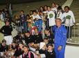 Parceria CBT/Correios leva crianças do Projeto WimBelemDon para serem boleiros na Copa Davis