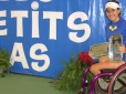 Natalia Mayara conquista o vice no Masters Juvenil de Cadeirantes