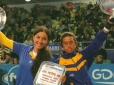 Natalia Mayara conquista o título de duplas na Cruyff Foundation Junior Masters