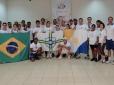 Módulo Escolar do Programa Jogue Tênis nas Escolas é realizado em Palmas, no Tocantins.