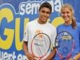Copa Guga: equipe do projeto olímpico em ação