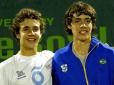Brasileiros são campeões de duplas de 16 anos no Orange Bowl
