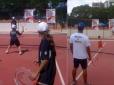 Play and Stay atraiu iniciantes, crianças e fãs da Fed Cup