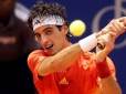 Bellucci vence set, mas leva virada de Federer