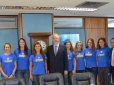 Time Correios Brasil visita presidente dos Correios