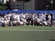 Tenistas de 12 a 16 anos movimentam Caça Talentos