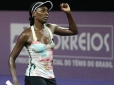 Venus Williams disputa semifinal do Brasil Tennis Cup