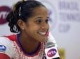 Teliana Pereira vence cabeça de chave no Brasil Tennis Cup
