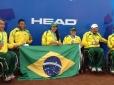 Brasil conquista três medalhas nas duplas em Santiago