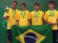 Brasil é vice-campeão Sul-Americano de 16 anos