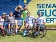 Equipe paralímpica do Brasil presente na Semana Guga