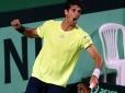 Credenciamento de imprensa para a Copa Davis entre Brasil e Bélgica