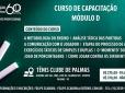 Capacitação da CBT realiza Curso de Capacitação Módulo D em Palmas
