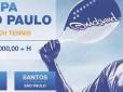 Santos recebe maior torneio de Beach Tennis do Brasil