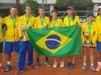 Brasil é vice-campeão no masculino do Sul-Americano 14 anos