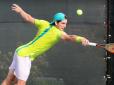 Brasileiros foram superados na estreia do US Open Junior