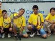 Tenistas de projeto social da CBT vencem o 1º Torneio Categoria Incentivo