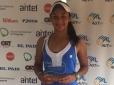 Nalanda Silva é vice-campeã de 16 anos no Uruguai Bowl