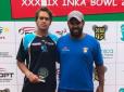 Gilbert Klier é vice-campeão no Inka Bowl, no Peru