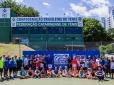 Guga e Fininho participam de segundo dia do Encontro Nacional de Tênis