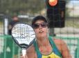 Rafaella Miiller e Vini Font avançam no Garopaba Open de Beach Tennis