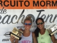 Joana Cortez é campeã do Garopaba Open de Beach Tennis