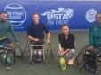 Com apoio da CBT, atletas do Tênis em Cadeira de Rodas treinam na Usta