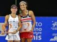 Carol Meligeni e Thaisa Pedretti são campeãs de duplas em São José