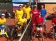 Time Júnior estreia com vitória no Mundial de Tênis em Cadeira de Rodas
