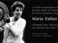 LUTO: Morre Maria Esther Bueno, principal nome do tênis brasileiro