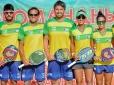 Brasil vence Alemanha e está na semifinal no Mundial de Beach Tennis