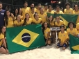 Seleção brasileira de Beach Tennis inicia disputa do Pan, em Aruba