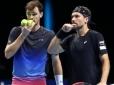 Soares e Murray vencem mais uma e se classificam para semi do ATP Finals