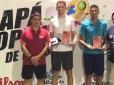 Paulo Saraiva é campeão do Amapá Open de Tênis, em Macapá