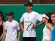 Marcelo Melo recebe atletas no Roland Garros Junior Wild Card Series