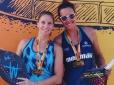 Brasileira e alemã levam o título no Rio Beach Tennis Tour em Niterói