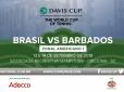 Venda do segundo lote de ingressos para a Copa Davis começa nesta quarta