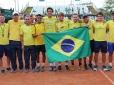 Com apoio da torcida, Brasil vence Barbados na Copa Davis em Criciúma