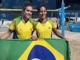 Brasil avança com quatro duplas às semifinais do Beach Tennis nos Jogos Mundiais de Praia
