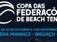 Copa das Federações de Beach Tennis está confirmada para o fim de outubro
