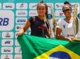 Com virada épica, brasileiras são campeãs de Grand Slam de Beach Tennis ...