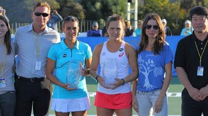 Gabriela Cé conquista WTA 125K de Carlsbad nas duplas
