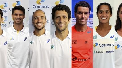 Brasil inscreve tenistas para os Jogos Olímpicos Rio 2016