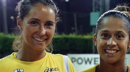 Teliana e Paula jogam duplas no Brasil Tennis Cup em preparação olímpic ...