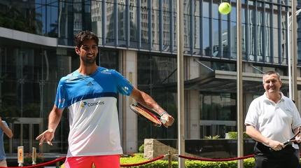 Bellucci vence estreia contra português no ATP de Shenzhen