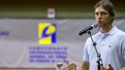 Novo presidente da CBT acompanha Camp. Internacional de Porto Alegre