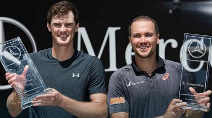 Bruno Soares e Jamie Murray conquistam o ATP 250 de Stuttgart