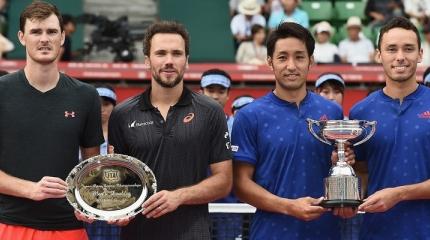 Bruno Soares é vice-campeão do ATP 500 de Tóquio, no Japão