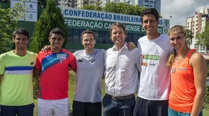 Time de peso marca último dia do Encontro Nacional de Tênis