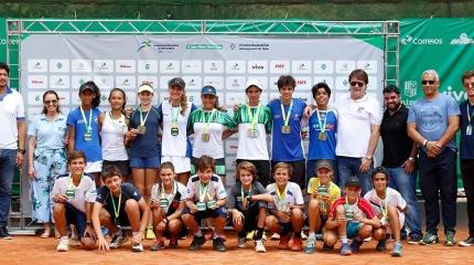 Definidos campeões dos 12 e 14 anos da 1ª Copa Minas Tênis Clube, em BH